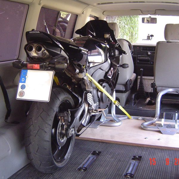 Motorcycle Transit Chock