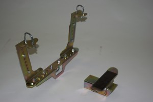 Standard Footpeg Mount Set